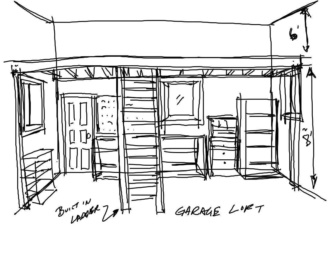 Garage Storage Loft Plans