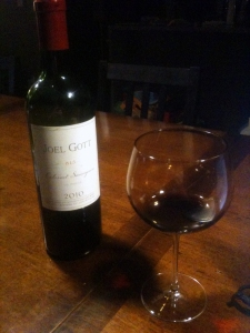 2010 Joel Gott 815 California Cabernet Savignon makes everything better.