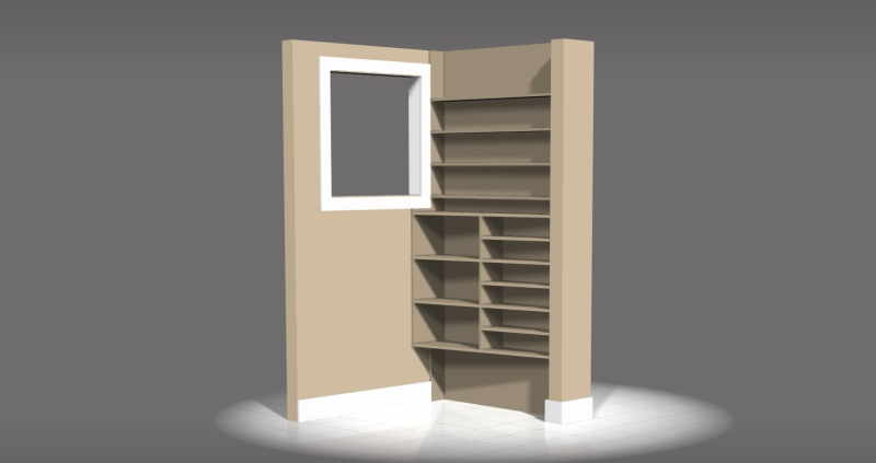 bookshelf design in malaysia