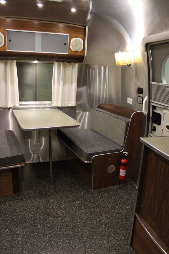 A special edition Airstream Bambi interior for sale on Ebay for $25,000