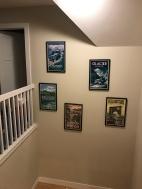 hallway art hung 4